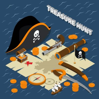 Virtual Treasure Hunt